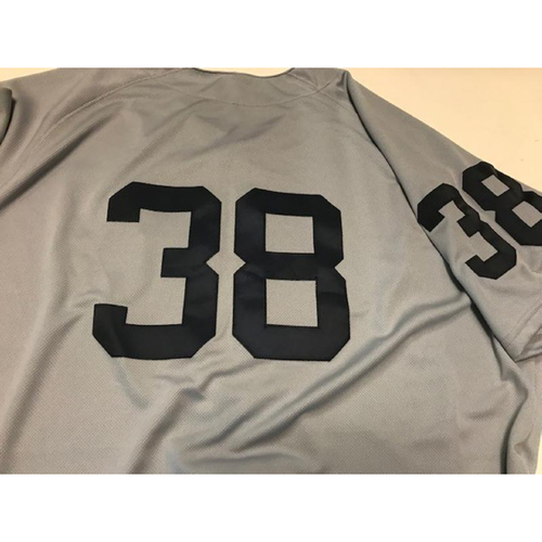 Photo of Game-Used 1968 World Series 50th Anniversary Jersey: Francisco Liriano