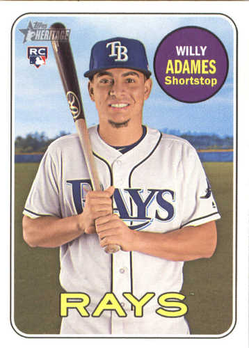 Photo of 2018 Topps Heritage #643 Willy Adames RC