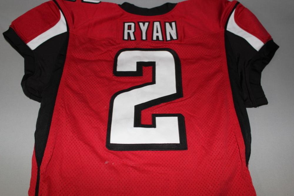 STS - Falcons Matt Ryan game worn jersey (November 27, 2016) MVP Season