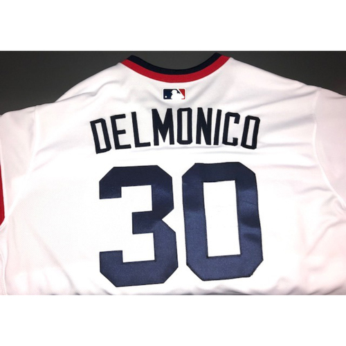 Photo of Nicky Delmonico Team-Issued 1983 Jersey