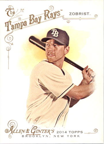 Photo of 2014 Topps Allen and Ginter #174 Ben Zobrist