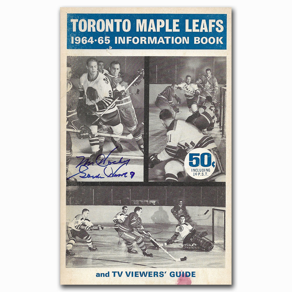 Toronto Maple Leafs 1964-65 Information Booklet