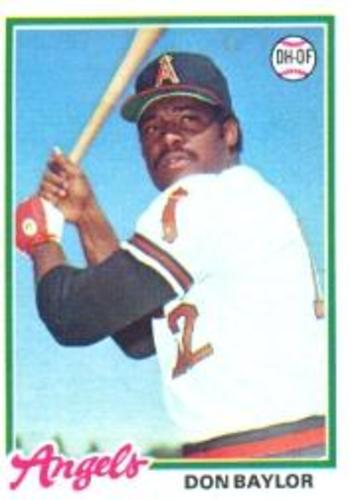 Photo of 1978 Topps #48 Don Baylor