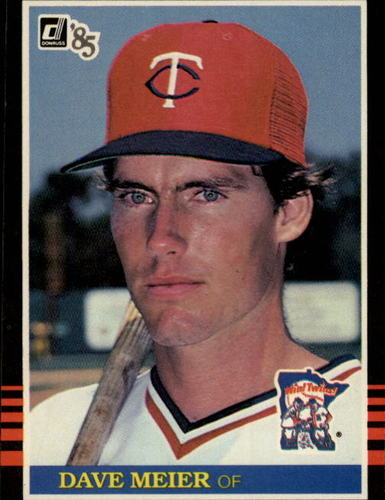 Photo of 1985 Donruss #147 Dave Meier