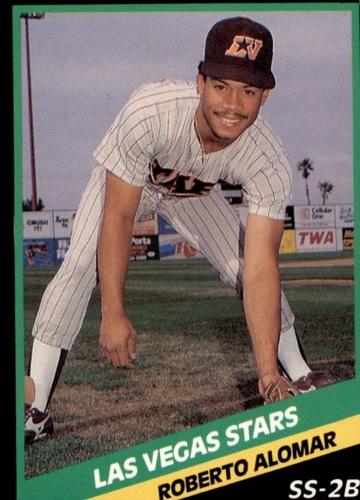 Photo of 1988 Las Vegas Stars CMC #20 Roberto Alomar