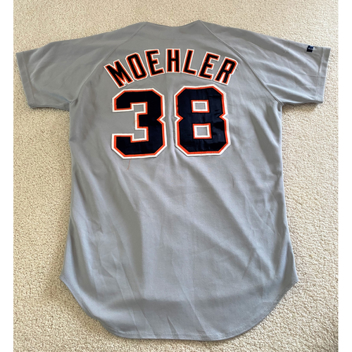 Photo of Brian Moehler #38 Detroit Tigers Road Jersey (NOT MLB AUTHENTICATED)