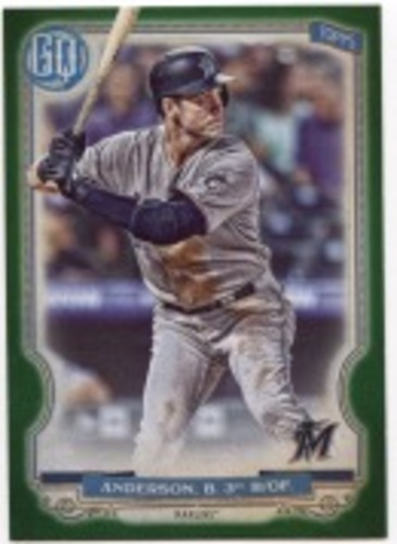 Photo of 2020 Topps Gypsy Queen Green #110 Brian Anderson