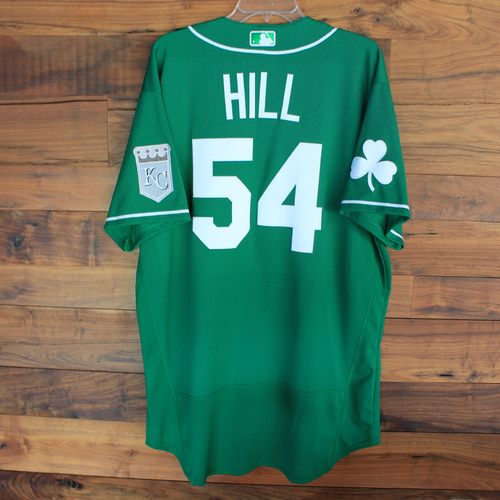 Photo of Team-Issued 2020 St. Patrick's Day Jersey: Tim Hill #54 - Size 48