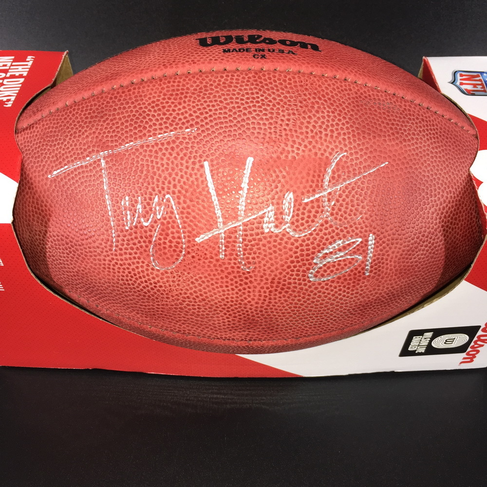 Legends - Rams Torry Holt Signed Authentic Football