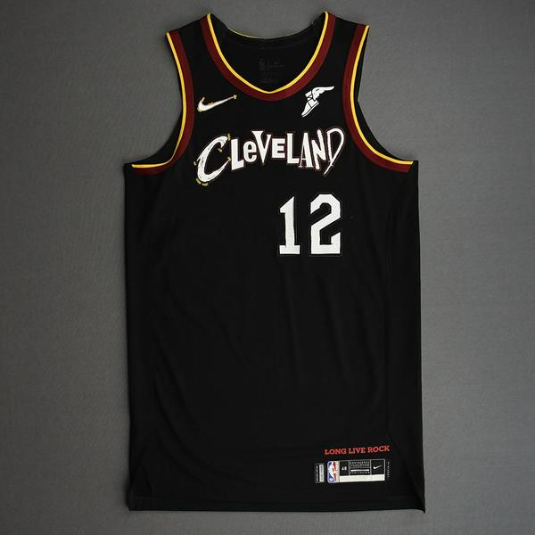 Image of Taurean Prince - Cleveland Cavaliers - Game-Issued City Edition Jersey - 2020-21 NBA Season