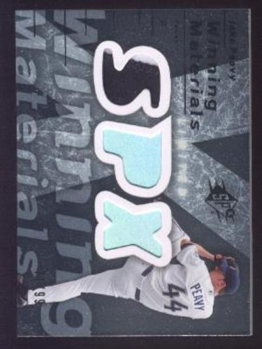 Photo of 2007 SPx Winning Materials Patches Silver #JP Jake Peavy/99