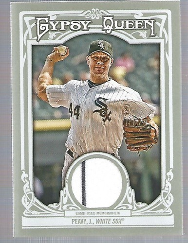 Photo of 2013 Topps Gypsy Queen Relics #JP Jake Peavy