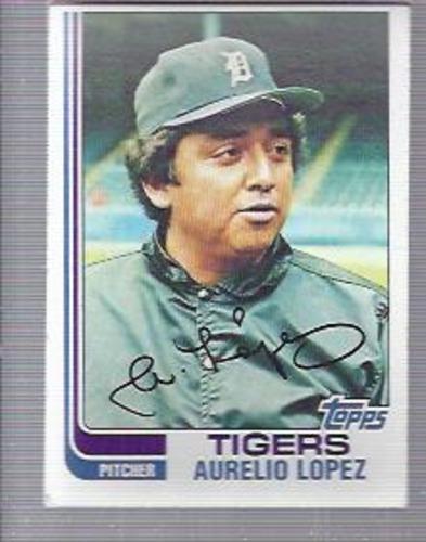 Photo of 1982 Topps #728 Aurelio Lopez