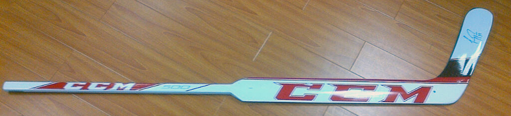 CAREY PRICE Autographed CCM 500 Model Goalie Stick - Montreal Canadiens *Slight Factory Paint Chipping*