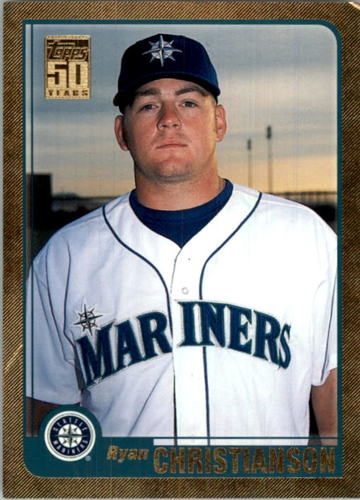 Photo of 2001 Topps Traded Gold #T158 Ryan Christianson