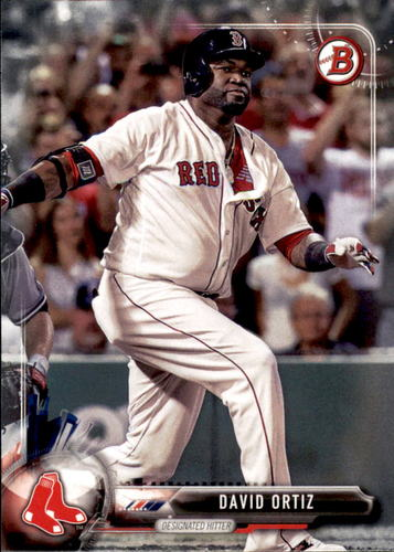 Photo of 2017 Bowman #52 David Ortiz