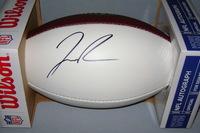 NFL - RAMS JOSH REYNOLDS SIGNED PANEL BALL