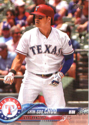 Photo of 2018 Topps #199 Shin-Soo Choo