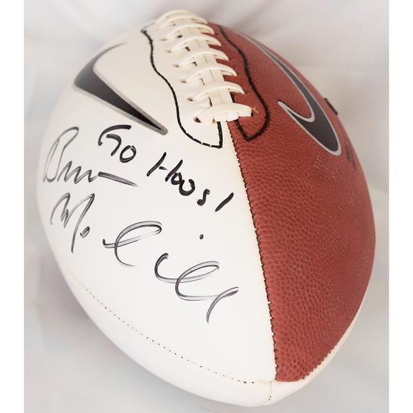 Photo of Coach Mendenhall Autographed University of Virginia Novelty Nike Football
