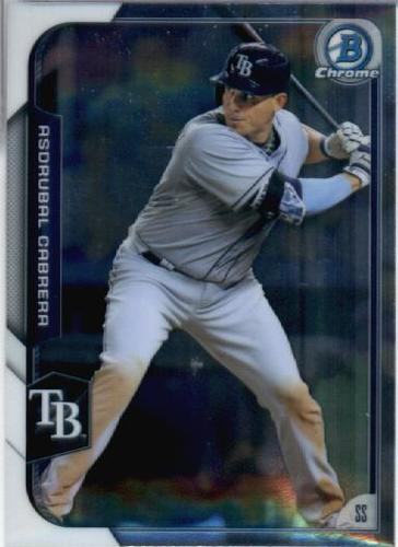 Photo of 2015 Bowman Chrome #114 Asdrubal Cabrera