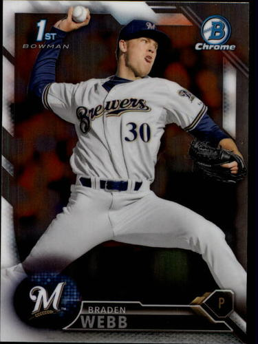 Photo of 2016 Bowman Chrome Draft #BDC82 Braden Webb