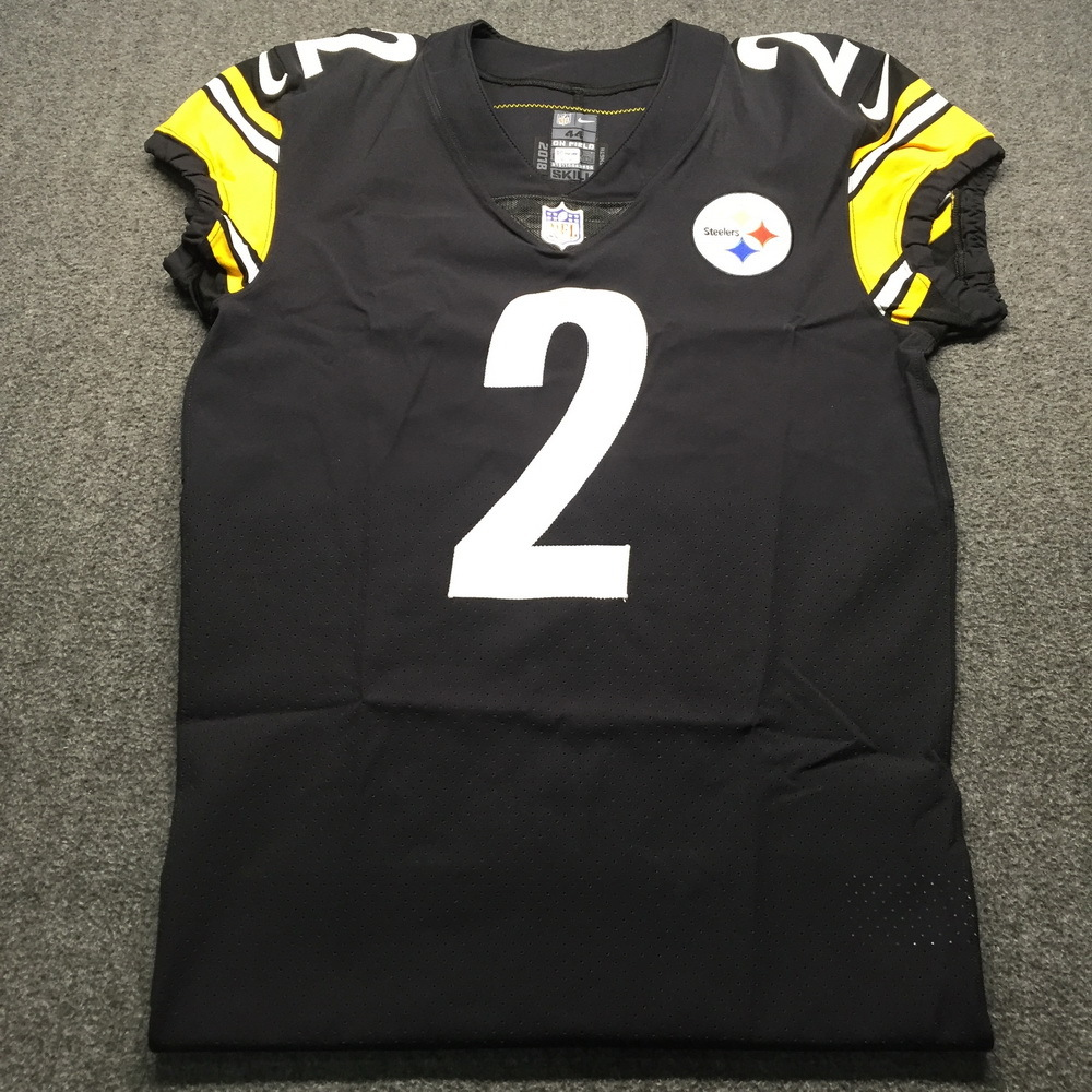 factory authentic c36fd 309a0 NFL Auction | STS - Steelers Mason Rudolph Game issued ...