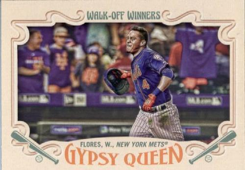 Photo of 2016 Topps Gypsy Queen Walk Off Winners #GWO7 Wilmer Flores