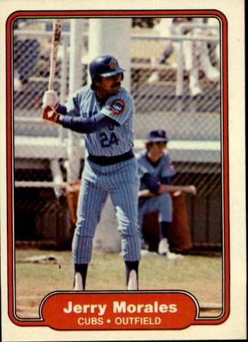 Photo of 1982 Fleer #601 Jerry Morales