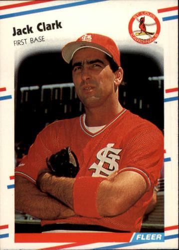 Photo of 1988 Fleer #26 Jack Clark