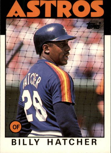 Photo of 1986 Topps Traded #45T Billy Hatcher