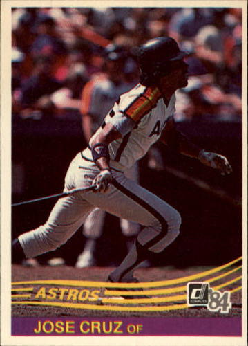 Photo of 1984 Donruss #182 Jose Cruz