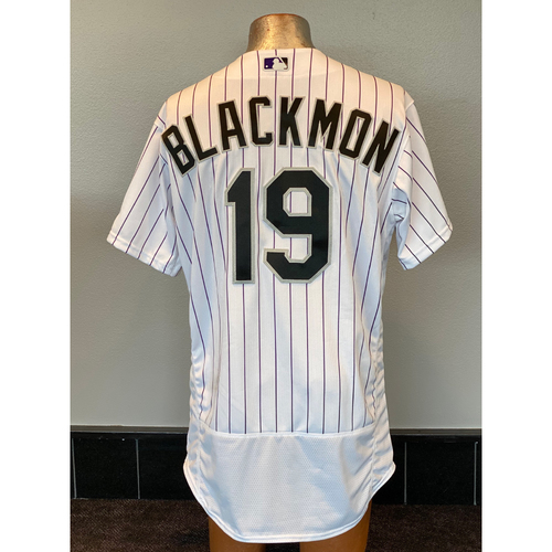 Photo of Colorado Rockies Team-Issued 2020 Home Opener Jersey: Charlie Blackmon