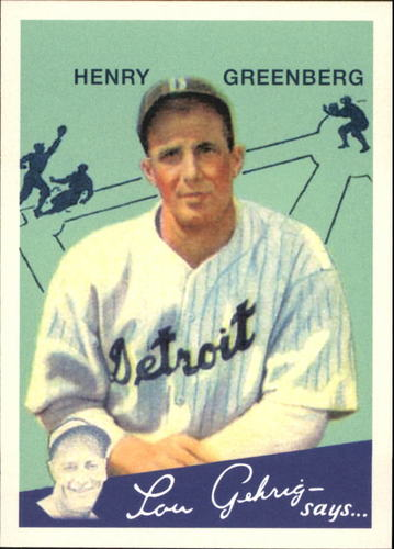 Photo of 2011 Topps CMG Reprints #CMGR3 Hank Greenberg