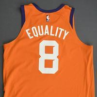 Frank Kaminsky - Phoenix Suns - Game-Worn Statement Edition Jersey - 2019-20 NBA Season Restart with Social Justice Message