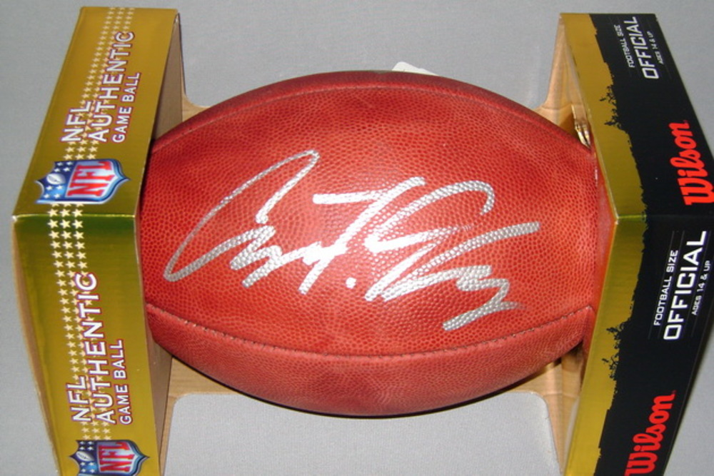 NFL - JAGUARS AVERY GENNESY SIGNED AUTHENTIC FOOTBALL
