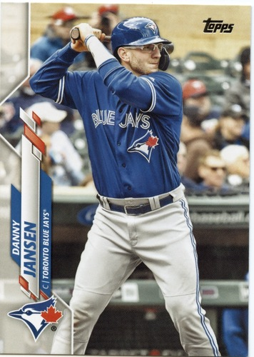 Photo of 2020 Topps #563 Danny Jansen