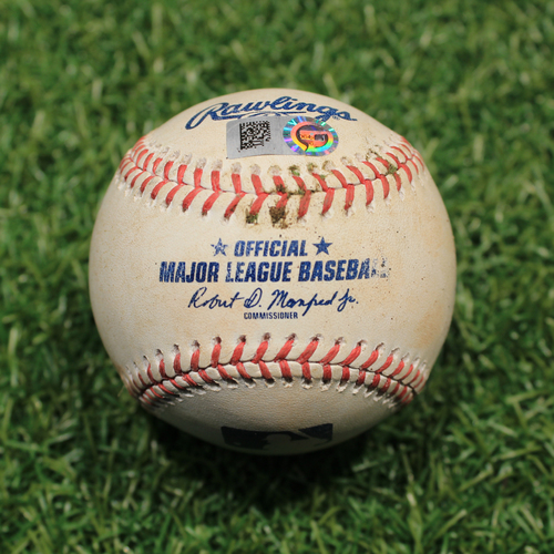 Photo of Game-Used Baseball: Daz Cameron 11th Career Hit (9/26/20 DET @ KC)