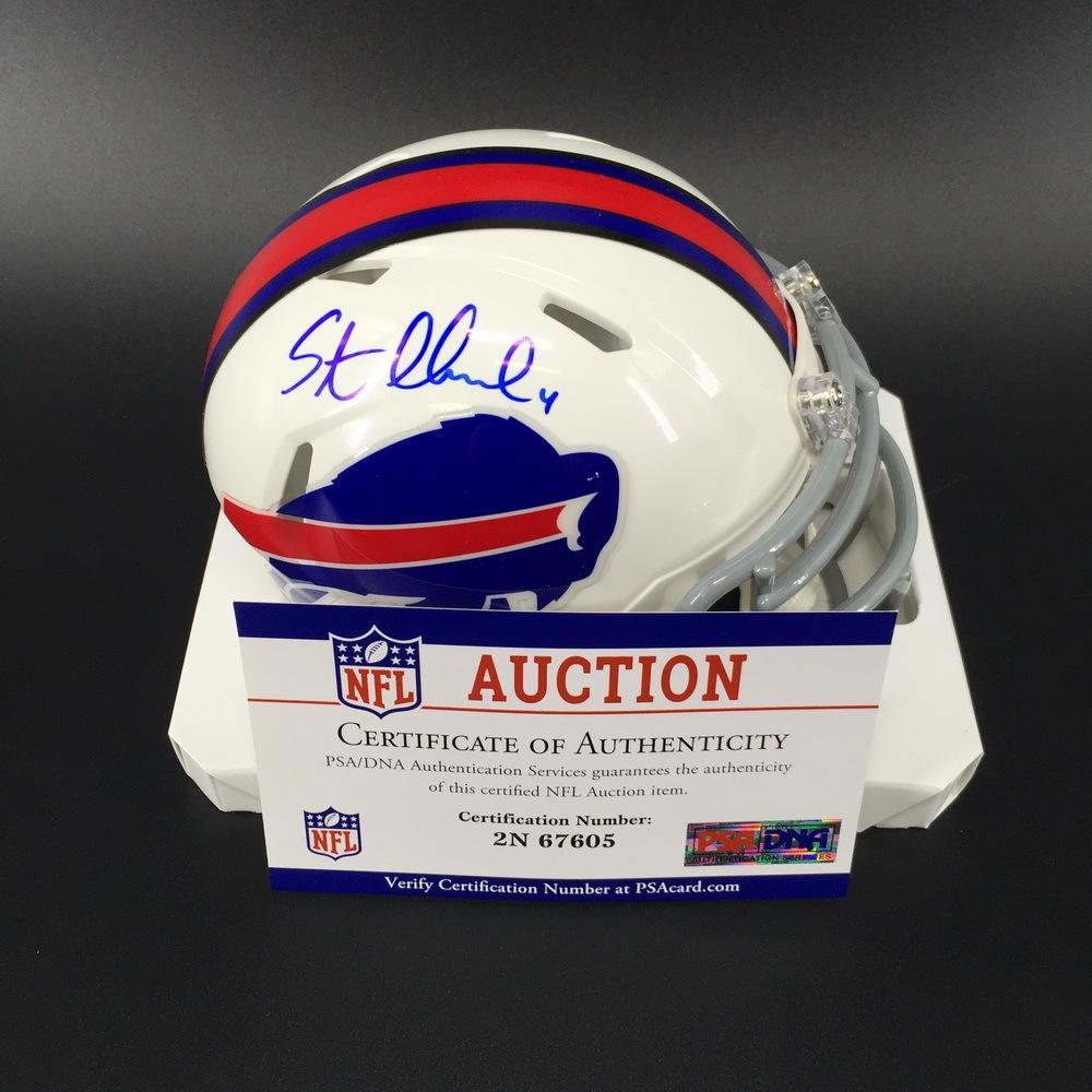 Bills - Steven Hauschka Signed Mini Helmet