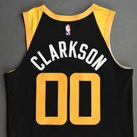 Jordan Clarkson - Utah Jazz - Game-Worn City Edition Jersey - Scored Team-High 23 Points - 2020-21 NBA Season