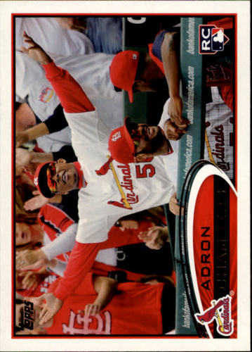 Photo of 2012 Topps #90 Adron Chambers RC