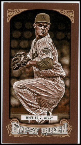 Photo of 2014 Topps Gypsy Queen Mini Sepia #315 Zack Wheeler