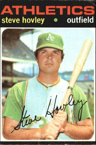 Photo of 1971 Topps #109 Steve Hovley