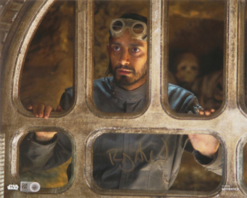 Riz Ahmed as Bodhi Rook 16x20 Autographed in Gold Ink Photo
