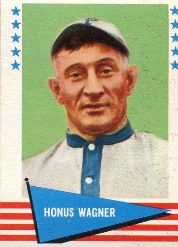Photo of 1961 Fleer #150 Honus Wagner -- Hall of Fame Class of 1936