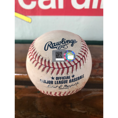 Cardinals Authentics: Game-Used Baseball Pitched By Michael Wacha to Dee Gordon *Single*