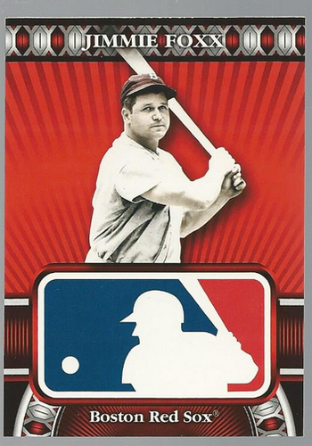 Photo of 2010 Topps Logoman HTA #26 Jimmie Foxx