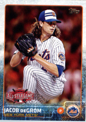 Photo of 2015 Topps Update #US90 Jacob deGrom