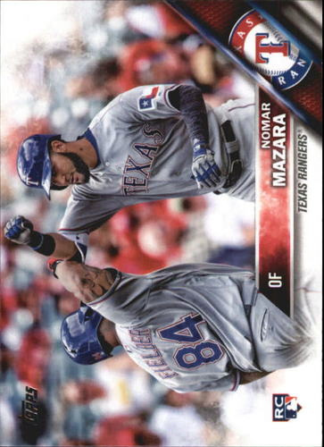 Photo of 2016 Topps Update #US158A Nomar Mazara Rookie Card