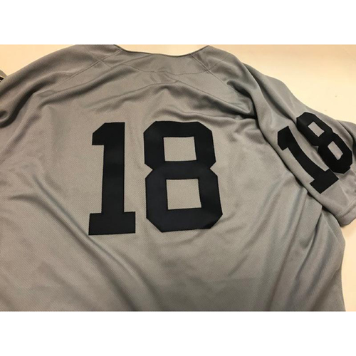 Photo of Game-Used 1968 World Series 50th Anniversary Jersey: Dawel Lugo