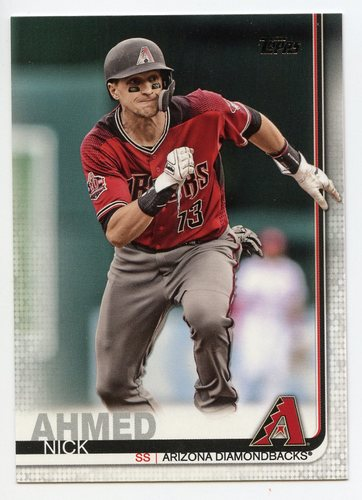 Photo of 2019 Topps #68 Nick Ahmed